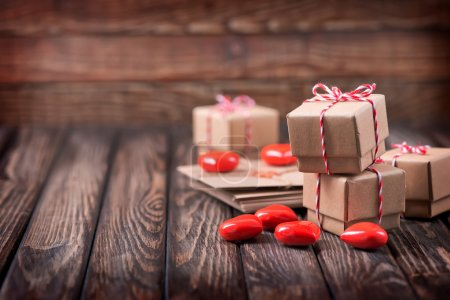 boxes for presents with hearts