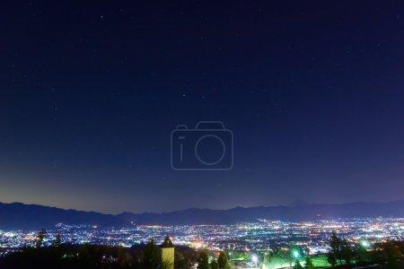 Night View of the Kofu city