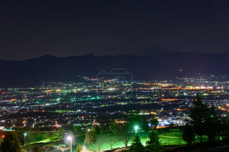 Night View of the Kofu city