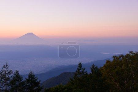 Mt.Fuji and Sea of clouds