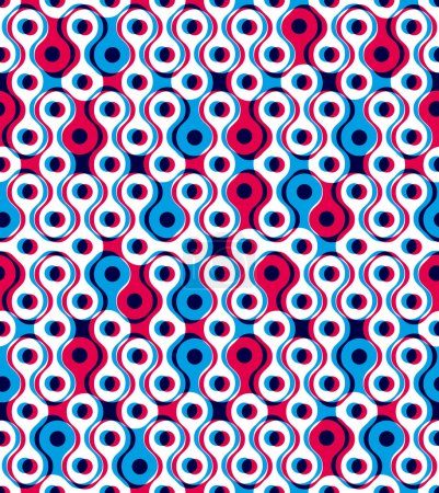 Abstract geometric background, seamless pattern, vector backgrou