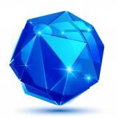 Plastové obilí dimenzionální objekt vytvořený z geometrických obrazců