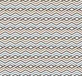 Bright abstract seamless pattern with interweave lines Vector p