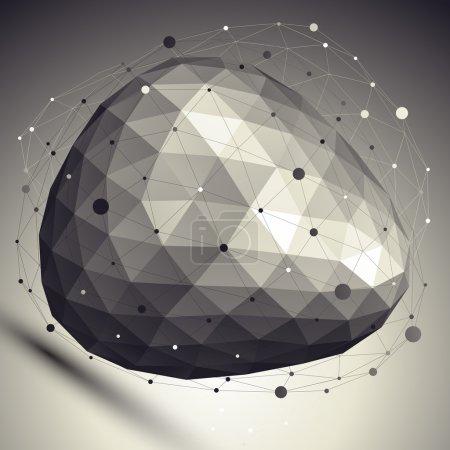 Spatial technological deformed shape, polygonal asymmetric eps8