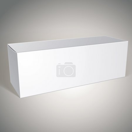 Blank box, package design