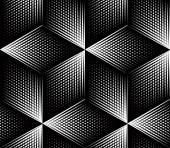 Geometrické černé a bílé pozadí