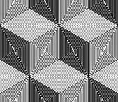 Pattern with geometric figures