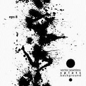 Black and white ink splash