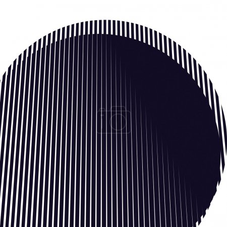 monochrome geometric lines.