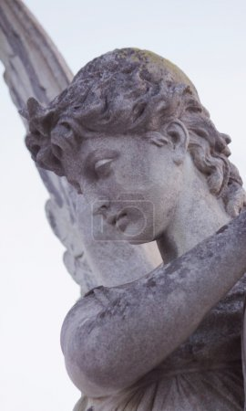 birth of goddess of love Aphrodite (Venus, fragment of statue)
