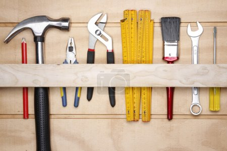 Assorted work tools