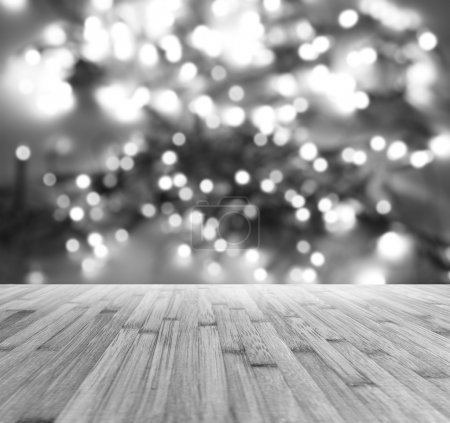 Floorboards and bokeh