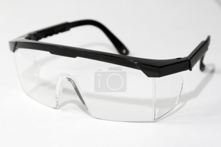 Pair of safety glasses