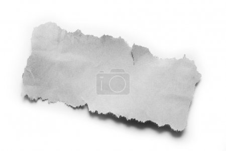 Torn paper piece