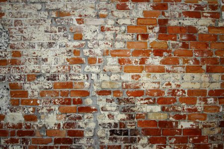 Photo for Closeup of bricks in wall - Royalty Free Image