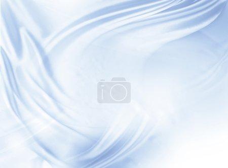 Photo pour Gros plan de lignes en tissu de soie - image libre de droit
