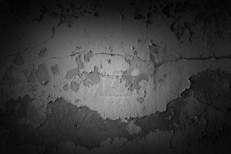 Photo pour Grunge texturé mur de béton gros plan - image libre de droit