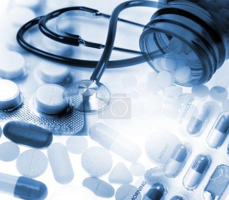 Medical still life