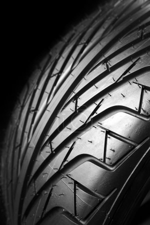 Tire tread detail
