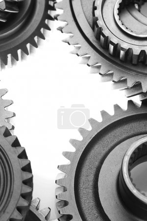Cogs binding together