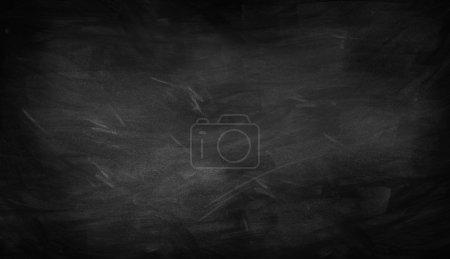 Chalk rubbing on blackboard
