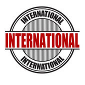 International sign or stamp