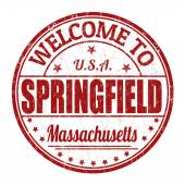 Welcome to Springfield stamp