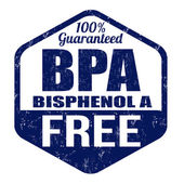 BPA Bisphenol-A free stamp