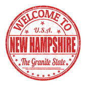Welcome to New Hampshire stamp