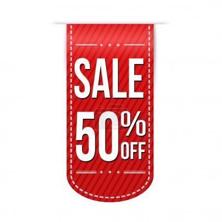 продажа 50 от дизайна баннера