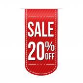 Sale 20 off banner design