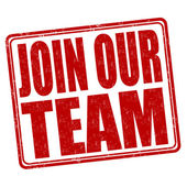 Join our team stamp