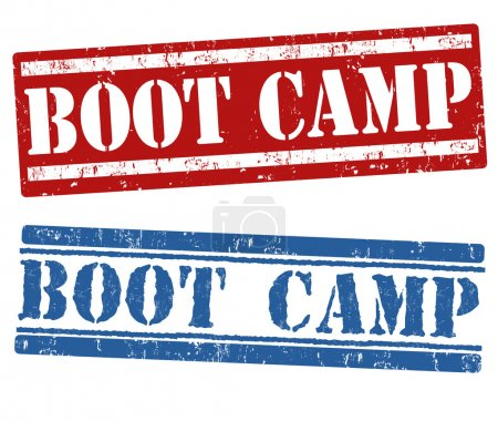 Boot camp stamps
