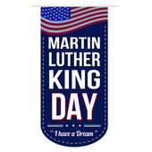 Martin Luther King Day banner design