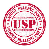 Unique Selling Point  stamp