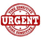 Urgent, time sensitive stamp