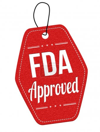 FDA approved label or price tag