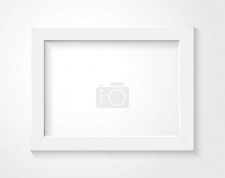 Illustration for White frame - Royalty Free Image