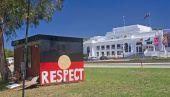 Canberra, Austrálie - 18 prosince 2014: Domorodé velvyslanectví v C