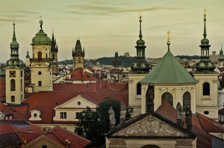 Old Town architecture in Prague