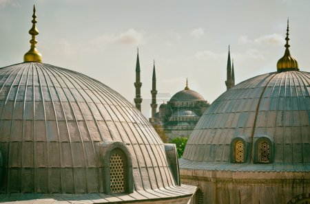 Sultan Ahmed Mosque in Istanbul.
