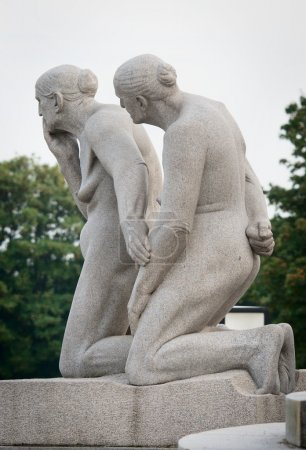 Statues in Vigeland park
