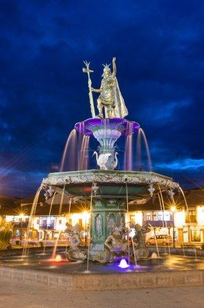 Beautiful Inca fountain