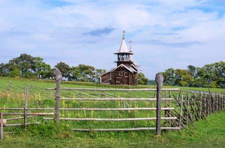 Wooden church on island Kizhi.