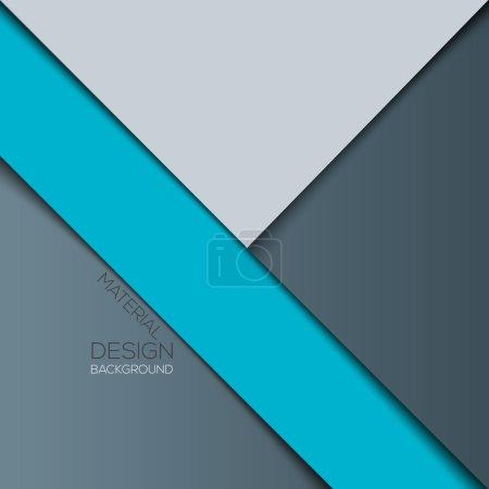 Modern material design background. Vector...