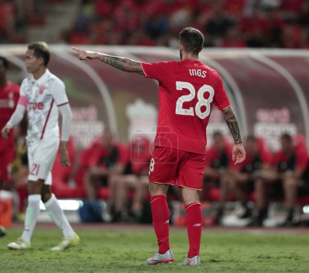 BANGKOK, THAILAND - JULY 14:Danny Ings of Liverpool in action du