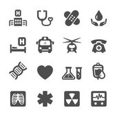 medical and hospital icon set 7 vector eps10
