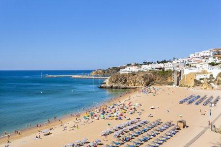 Beautiful beach of in Albufeira, Portugal
