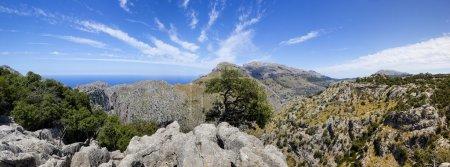 Sa Calobra coast in Spain