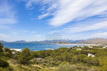 Palma de Mallorca landscape